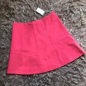 NWT- J. Crew A Line Mini Skirt Size 4